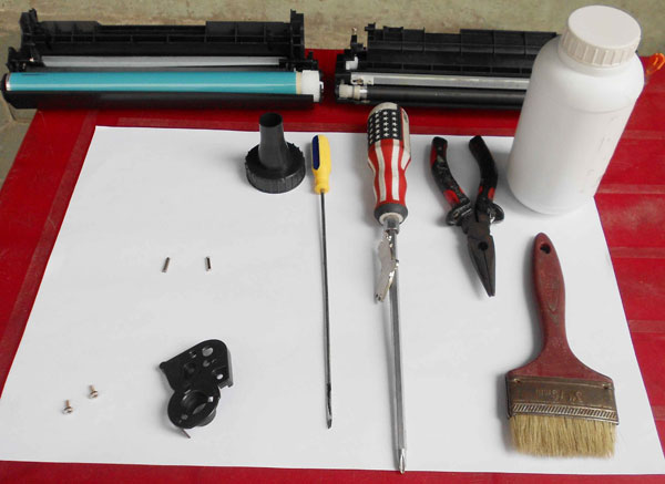 Công cụ đổ mực máy in canon 2900